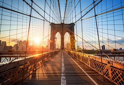 3d tapeta Brooklyn Bridge 29390