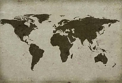 Fototapeta - Map of the World 55