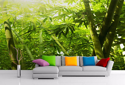 Tapeta Tropical Bamboo 29127